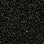 rocailles 8/0 opaque - zwart