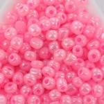 seed beads 6/0 ceylon - pink