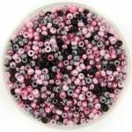 miyuki rocailles 11/0 - mix pink candy