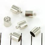 end cap round 6 mm - nickel