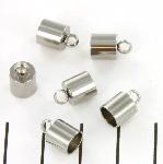 eindkap rond 6 mm - roestvrijstaal nikkel