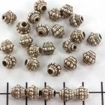 rondje versierd - zilver