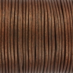 leather 2 mm - naturel copper