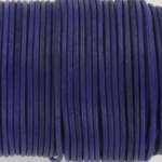 leather 2 mm - naturel purple blue
