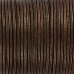 leather 2 mm - metallic tamba