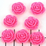 rose 15 mm - bright pink