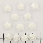 little rose 9 mm - white