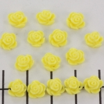 little rose 7 mm - yellow