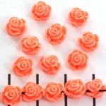 roosje 7 mm - zalm roze