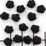 roosje 7 mm - zwart