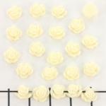 roosje 7 mm - creme wit
