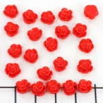 little rose 7 mm - red