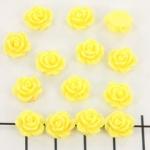 roosje 9 mm - geel