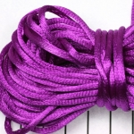 satin cord 3.5 mm - purple