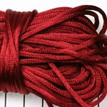 satin cord 3.5 mm - red