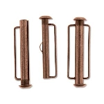insteekslot slide bar magnetisch koper - 31.5 mm