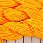 shamballa koord 1 mm - licht oranje
