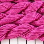 shamballa cord 1 mm - dark pink