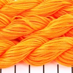 shamballa cord 1 mm - orange