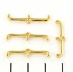 cymbal connector skafi iii - goud