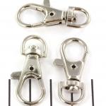 sleutelhanger - zilver 37 mm