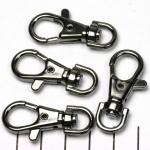 sleutelhanger - zwart 37 mm