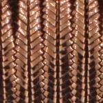 soutache 3 mm - bronze metallic