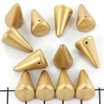 spike 12x18 mm - goud