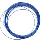 steel wire 10 meter bobbin - blue