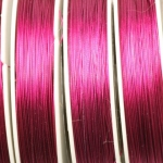 steel wire - dark pink fushia