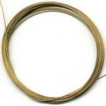 staaldraad 10 meter klos - goud