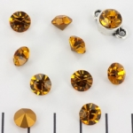Preciosa point stone SS39 - topaz