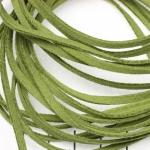 imitatie suède veter - groen