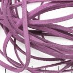 imitatie suède veter - lila paars