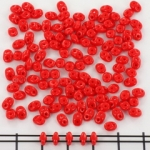 superduo 2.5x5 mm - red coral