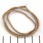 Swarovski parels 2 mm - bronze