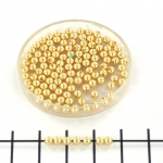 Swarovski pearls 3 mm - gold