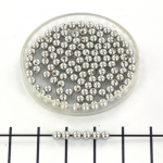 Swarovski parels 3 mm - light grey
