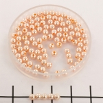 Swarovski parels 3 mm - peach
