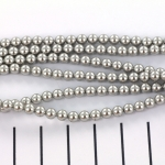 Swarovski parels 4 mm - light grey