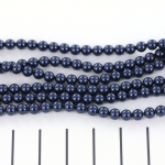Swarovski parels 4 mm - night blue