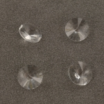 swarovski xilion chaton 12 mm - crystal