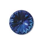 swarovski rivoli 14 mm - sapphire