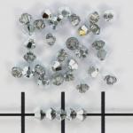 swarovski xilion bicone 3 mm - crystal cal