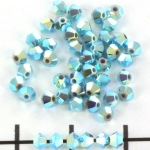 swarovski facet 3 mm - turquoise ab