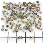 swarovski xilion bicone 3 mm - vitrial medium