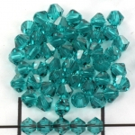 swarovski facet 4 mm - blue zircon