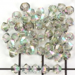 swarovski facet 4 mm - crystal paradise shine