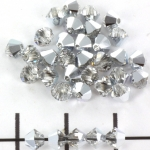 swarovski facet 4 mm - crystal cal
