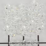 swarovski xilion bicone 4 mm - crystal